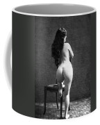 Nude Posing: Rear View Coffee Mug