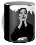Opera Singer Maria Callas No Date-2010 Coffee Mug
