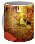 Party Setting With Colorful Bokeh Background Coffee Mug