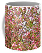 Pink Cherry Tree Coffee Mug