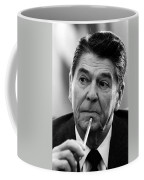 President Ronald Reagan Coffee Mug by War Is Hell Store