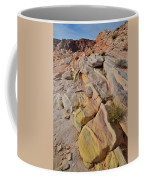 Rainbow Of Color In Valley Of Fire Coffee Mug