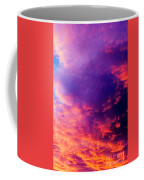 Red Cloudscape At Sunset. Coffee Mug