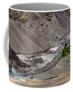 Rocky Landscape Of Leh City Ladakh Jammu And Kashmir India Coffee Mug