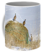 4 Roosters And A Hen Coffee Mug