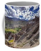 Ruins At Basgo Monastery Leh Ladakh Jammu And Kashmir India Coffee Mug