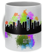 Seattle Skyline Silhouette Coffee Mug
