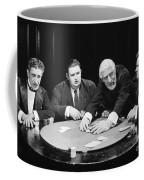 Silent Film Still: Gambling Coffee Mug