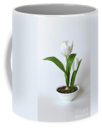 Silk Flower Coffee Mug