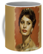 Sophia Loren, Vintage Actress Coffee Mug