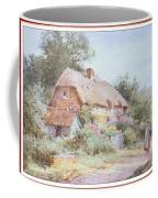 Stannardhenryjohnsylvester Girllookingatacottage-we F018 Henry  Sylvester Stannard Coffee Mug