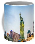 Street Scenes Around Las Vegas Nevada At Dusk Coffee Mug