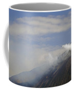 Stromboli Volcano On The Island Of Stromboli Coffee Mug