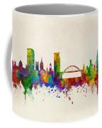 Sunderland England Skyline Coffee Mug