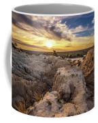 Sunset Over Walls Of China In Mungo National Park, Australia Coffee Mug