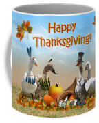 Thanksgiving Ducks Coffee Mug
