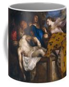 The Burial Of Christ Coffee Mug