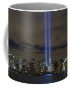 The Tribute In Light Memorial Coffee Mug by Stocktrek Images