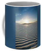 The Unique And Beautiful White Sands National Monument In New Mexico. Coffee Mug