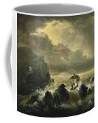 The Voyage Of Life - Manhood Coffee Mug