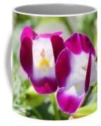 Torenia Named Kauai Magenta Coffee Mug