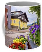 Town Of Kastelruth Street View Coffee Mug