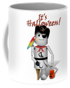 Trick Or Treat Time For Robo-x9 Coffee Mug