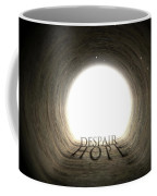Tunnel Text And Shadow Concept Coffee Mug
