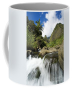 View Of Iao Needle Coffee Mug