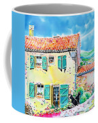 View Of Luberon Coffee Mug