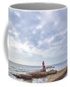 Walking Into The Sea Coffee Mug