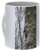 White-backed Woodpecker Coffee Mug