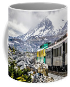 White Pass Mountains In British Columbia Coffee Mug