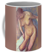 Woman Drying Herself Coffee Mug