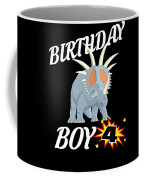 4 Years Old Birthday Design Dinosuar Shirt Coffee Mug