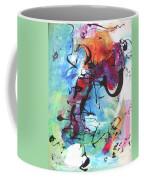 Abstract Expressionsim Art Coffee Mug