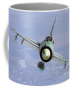 A Bulgarian Air Force Mig-21bis Armed Coffee Mug