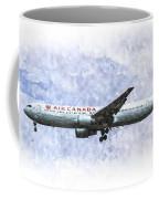 Air Canada Boeing 777 Art Coffee Mug
