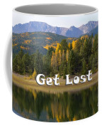 Autumn Aspen At Crystal Creek Reservoir Pikes Peak Coffee Mug