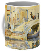 Bridge With Figures Coffee Mug