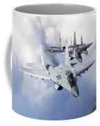 Bulgarian And Polish Air Force Mig-29s Coffee Mug