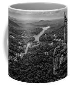 Chimney Rock At Lake Lure Coffee Mug