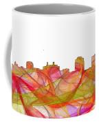 Colorado Springs Colorado Skyline Coffee Mug