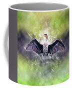 Cormorant Dries Its Wings Coffee Mug