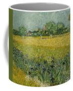 Field With Flowers Near Arles Coffee Mug