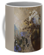 Flowers In A Black Vase Coffee Mug