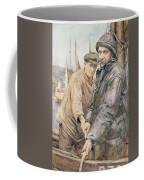 Hauling In The Net Henry Meynell Rheam Coffee Mug