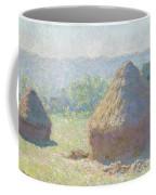 Haystacks, End Of Summer Coffee Mug