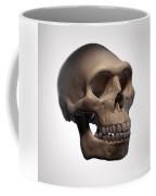 Homo Erectus Skull Coffee Mug