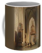 Interior View Of Namur Cathedral Coffee Mug